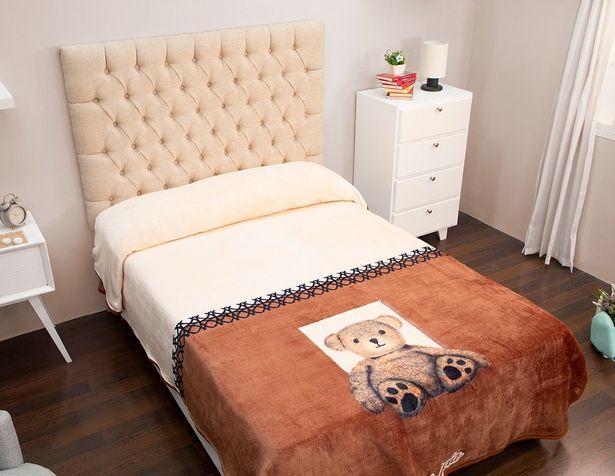 Oferta de Cobertor Matrimonial Rachel Teddy por $329