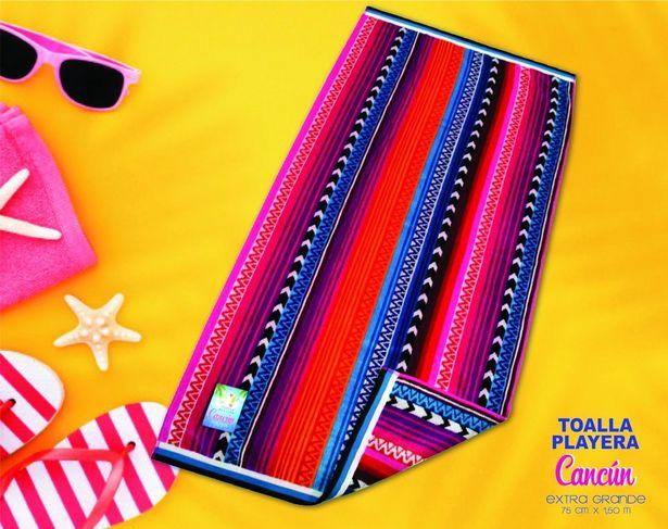 Oferta de Toalla  Alberca Cancún Azteca por $198