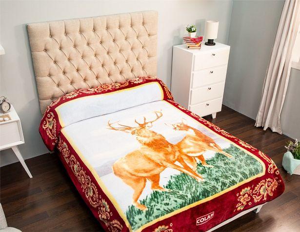 Oferta de Cobertor Matrimonial Rachel Venados por $329