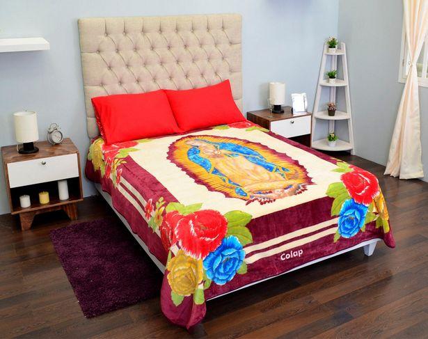 Oferta de Cobertor Matrimonial Rachel Guadalupana por $329