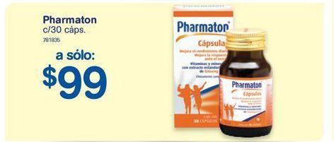 Oferta de Vitaminas Pharmaton por $99