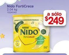 Oferta de Leche en polvo Nido forticrece 2.04 kg por $249