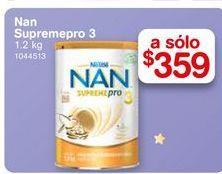 Oferta de Formula láctea NAN supreme Pro 3 1.2 kg por $359