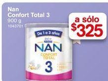 Oferta de Formula láctea NAN Confort Total etapa 3 900 gr por $325