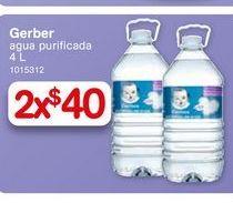 Oferta de Agua Gerber 4 l por