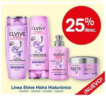 Oferta de Shampoo/acondiconador Elvive hidra hialuronico por