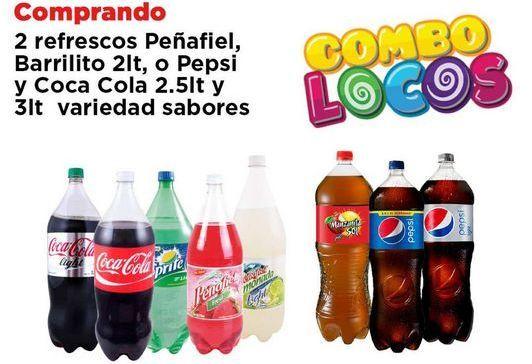 Oferta de Refrescos Pepsi por