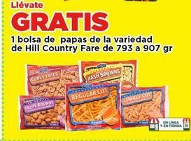 Oferta de Papas congeladas Hill Country Fare por