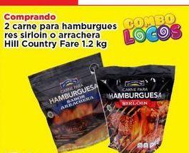 Oferta de Hamburguesas Hill Country Fare 1.2 kg por
