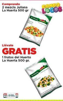 Oferta de Verdura  congelada La Huerta 500 gr por