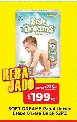 Oferta de Pañales Soft Dreams por $199