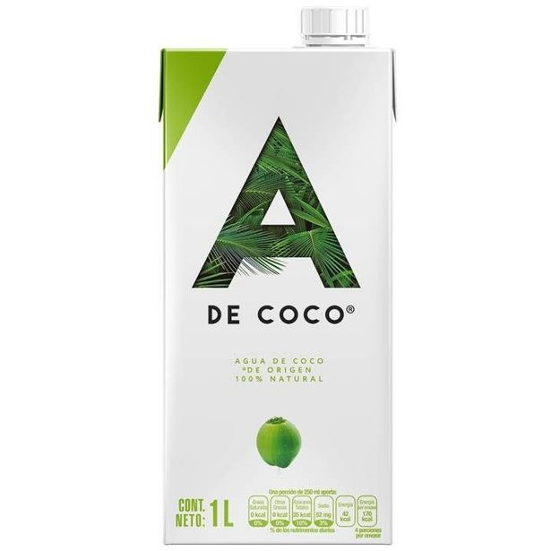Oferta de Agua de coco A de Coco  1 l por $43.9