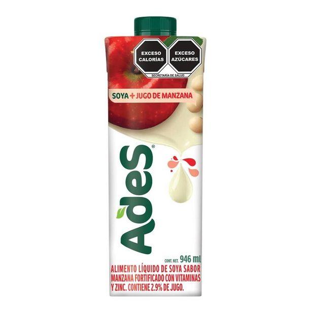 Oferta de Alimento liquido de soya AdeS  sabor manzana 946 ml por $22.5