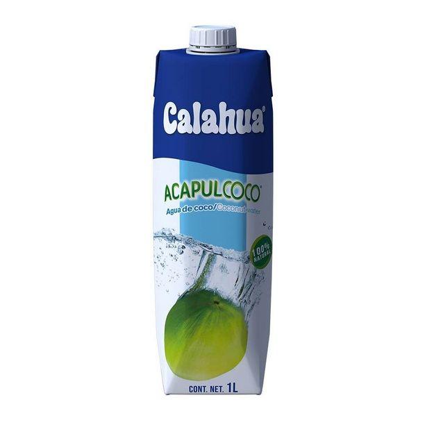 Oferta de Agua de coco Calahua Acapulcoco 1 l por $43.1
