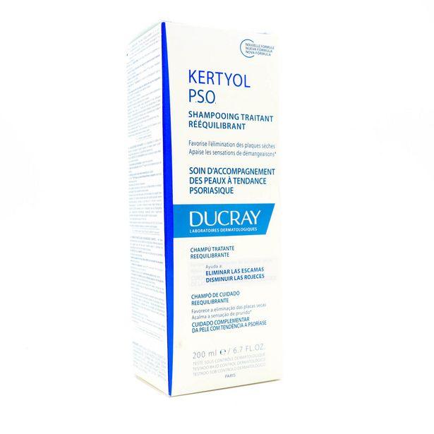 Oferta de Ducray Kertyol PSO Shampoo Anticaspa  con 200 mL por $416