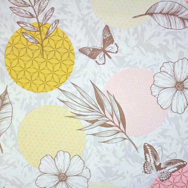 Oferta de Mantel PVC Estampado   Mariposas por $79.99