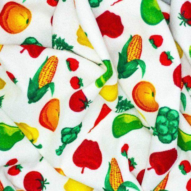 Oferta de Lipsic Estampado |  Frutas y Verduras por $69.99