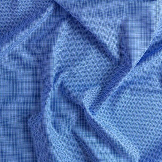 Oferta de Camisero Newport Azul Cuadro Chico por $74.99