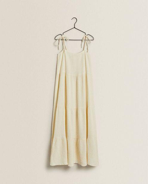 Oferta de Vestido Largo Algodón por $1599
