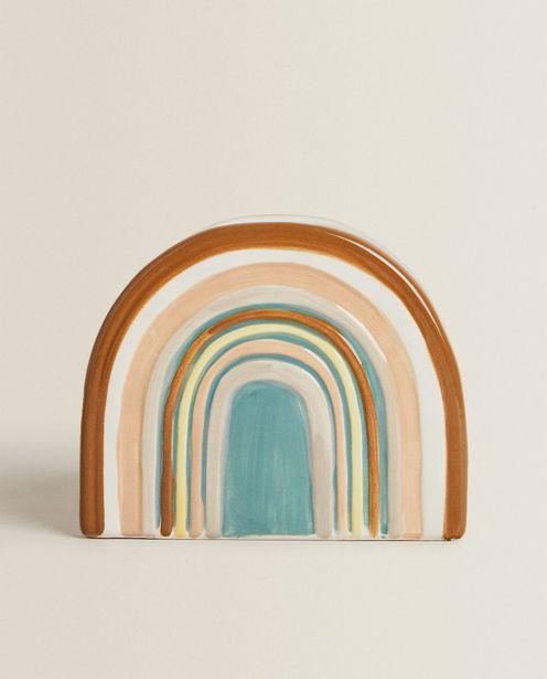 Oferta de Vaso Cerámica Arcoiris por $329