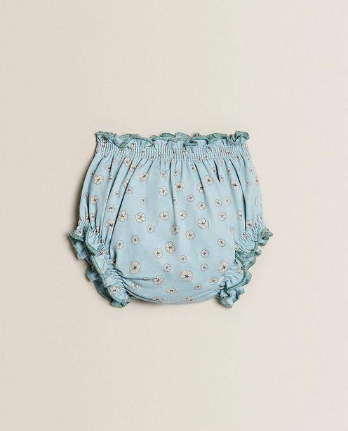 Oferta de Braguita Bikini Floral Azul por $399