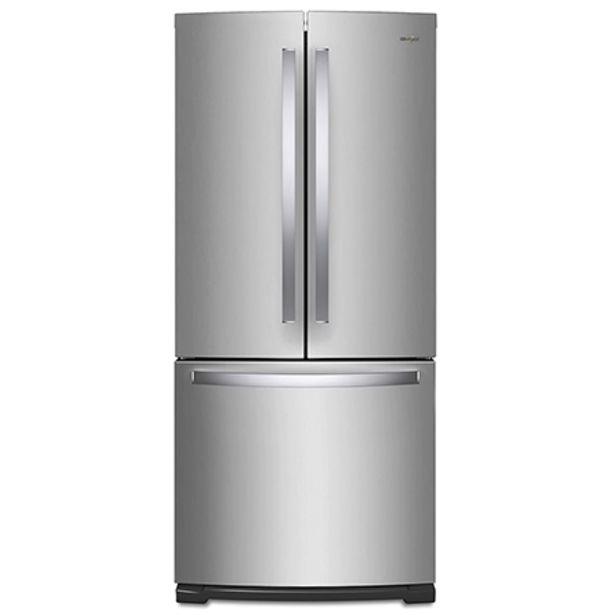 Oferta de Refrigerador Whirlpool French door 20 p3 por $21990