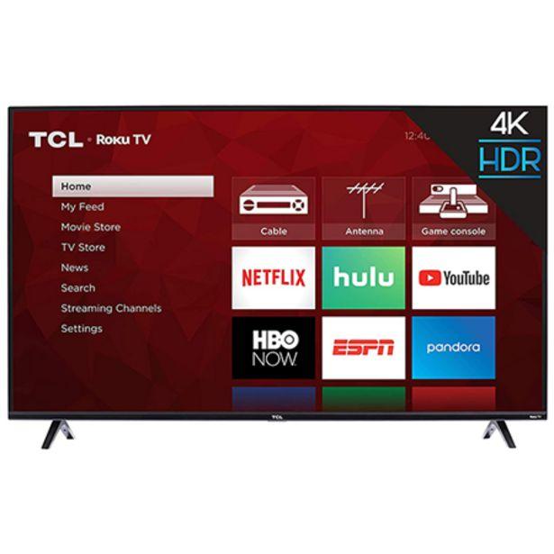 Oferta de TCL 50 Smart TV con Roku TV por $9990