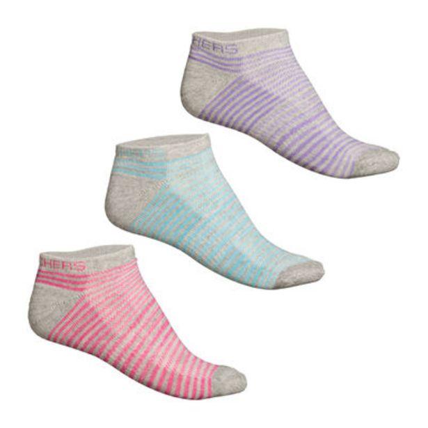 Oferta de Calcetines Skechers Sport 3 Pack para Mujer por $229