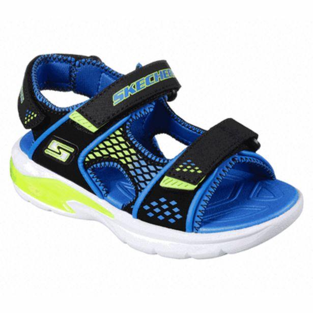 Oferta de Sandalia Skechers S Lights: E II Sandal - Beach Glowers para Niño por $1199