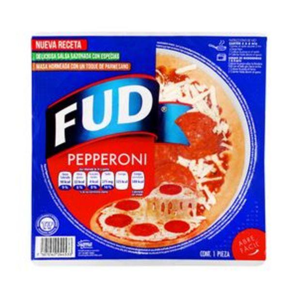 Oferta de Pizza peperoni 7 mediana FUD por $48.5