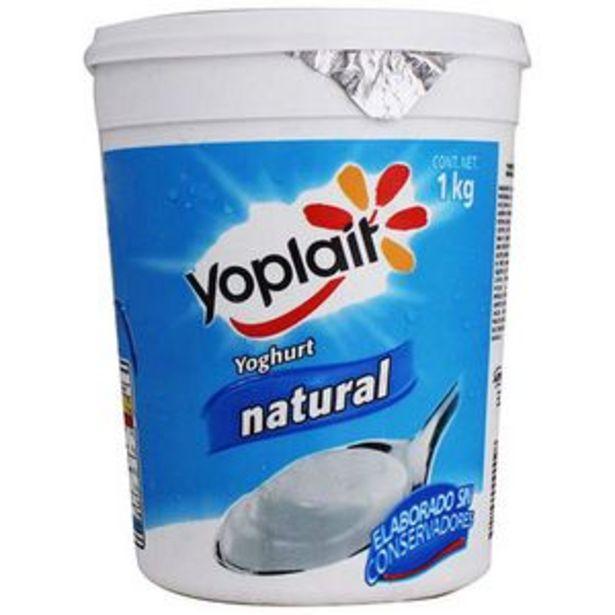 Oferta de Yogurth natural Yoplait 1 kg por $39.9