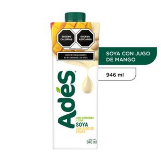 Oferta de AdeS Soya mango 946 ml por $23.1