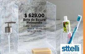 Oferta de Bote de basura baño por $629