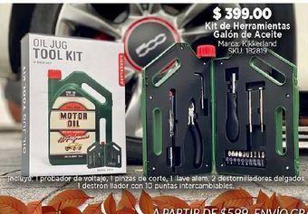 Oferta de Kit de herramientas galón de aceite por $399
