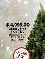 Oferta de Árbol de Navidad verde por $4999