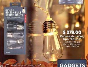 Oferta de Cadena de luces por $279