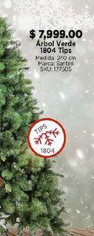 Oferta de Árbol de Navidad verde por $7999