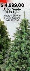 Oferta de Árbol de Navidad por $4999