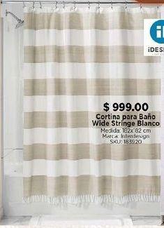 Oferta de Cortina de baño por $999