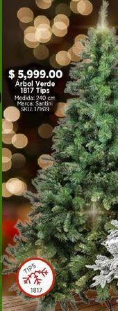 Oferta de Árbol de Navidad verde por $5999