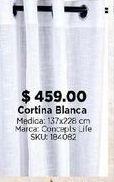 Oferta de Cortina blanca por $459