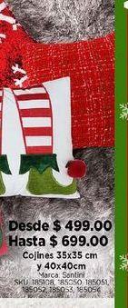 Oferta de Decoración de Navidad cojines por $499