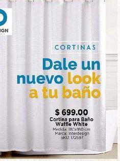 Oferta de Cortina de baño por $699