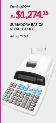 Oferta de Calculadora impresora por $1274