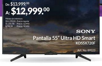 Oferta de Smart tv Sony por $12999