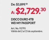 Oferta de Disco duro por $2729