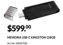 Oferta de Memoria externa por $599