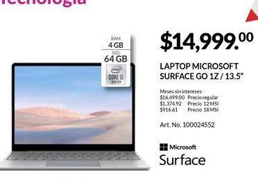 Oferta de Laptop Surface por $14999