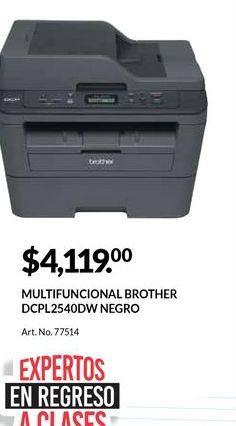 Oferta de Impresora multifunción Brother por $4119