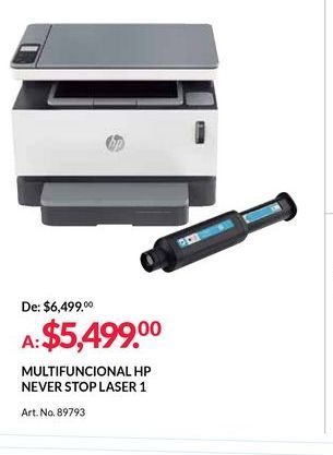 Oferta de Impresora multifunción por $5499